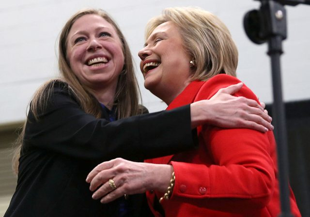 Chelsea Clinton and Hillary Clinton