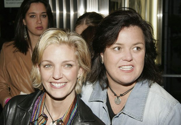 """Actress/comedian Rosie O'Donnell and wife Kelly Carpenter attend Showtime's """"The L Word"""" second season premiere in Chelsea February 8, 2005 in New York City"""