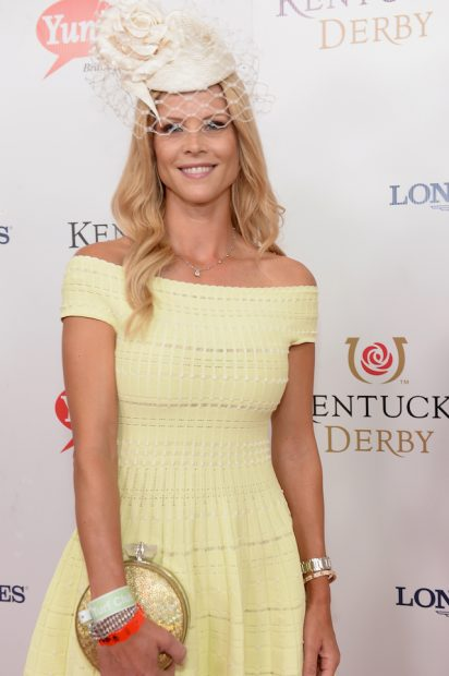 LOUISVILLE, KY - MAY 07: Elin Nordegren attends the 142nd Kentucky Derby at Churchill Downs on May 07, 2016 in Louisville, Kentucky. (Photo by Gustavo Caballero/Getty Images for Churchill Downs)