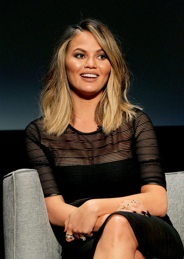 Chrissy Teigen onstage during the FYC Event - Spike's 'Lip Sync Battle' at Saban Media Center on June 14, 2016 in North Hollywood, California.