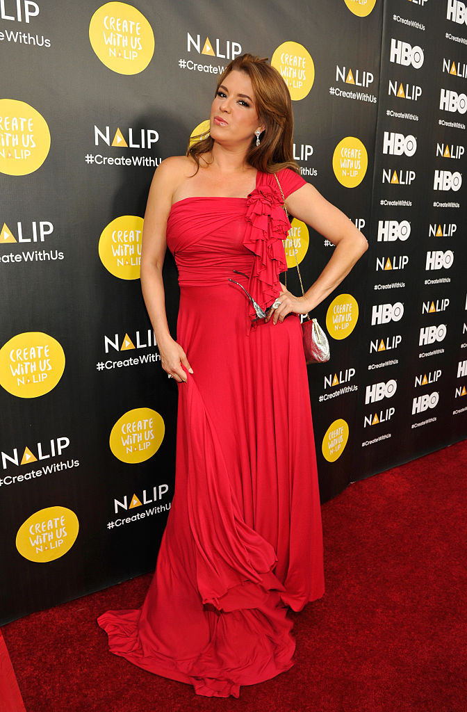 Machado is an actress now. (Photo by John Sciulli/Getty Images for NALIP)