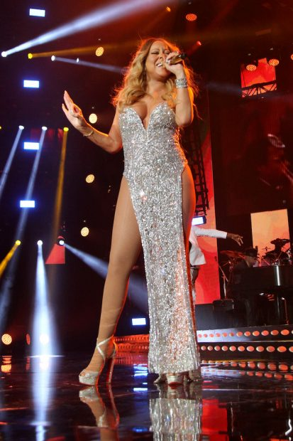 Mariah Carey performs on stage during the 2016 ESSENCE Festival presented by Coca Cola at the Louisiana Superdome on July 2, 2016 in New Orleans, Louisiana. (Photo by Bennett Raglin/Getty Images for 2016 Essence Festival)