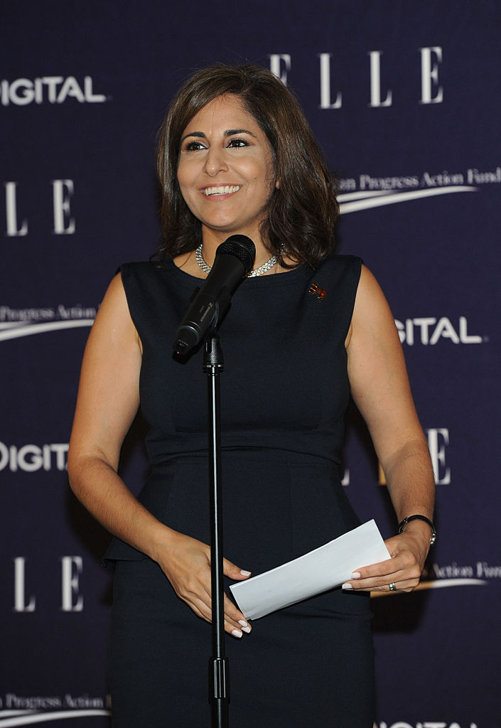 Neera Tanden attends a reception hosted by ELLE Editor-in-Chief Robbie Myers and the Center for American Progress President (Getty Images)