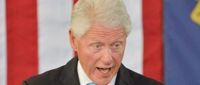 Bill Clinton speaks at the Community Family Life Recreation Center at Lyon Park on September 6, 2016 in Durham, North Carolina (Getty Images)