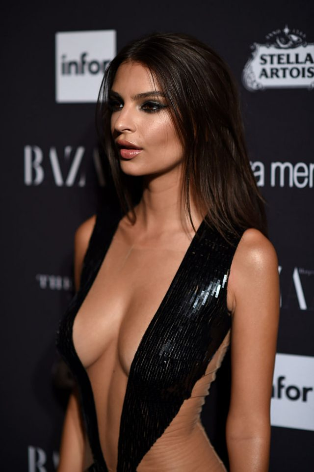 "Emily Ratajkowski attends Harper's Bazaar's celebration of ""ICONS By Carine Roitfeld"" presented by Infor, Laura Mercier, and Stella Artois at The Plaza Hotel on September 9, 2016 in New York City"