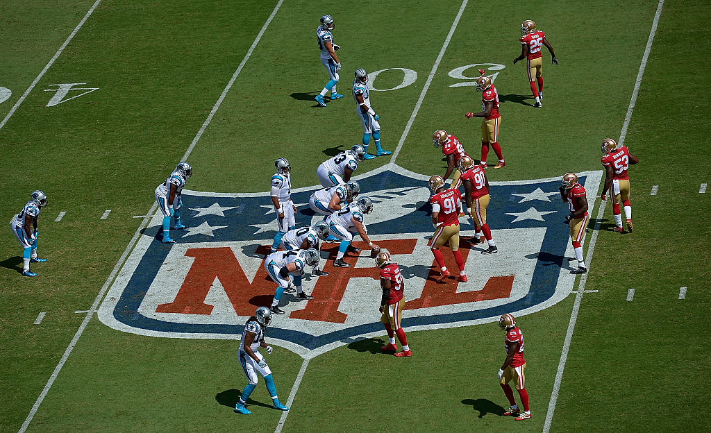 The Panthers face off against the San Francisco 49ers in week two. (Photo by Grant Halverson/Getty Images)
