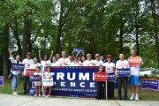Chinese Americans for Trump event (courtesy of Dr. Zhang Wei)