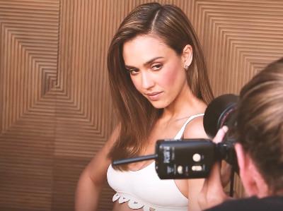 She owned this photoshoot (Photo credit: Screenshot/YouTube Shape Magazine)