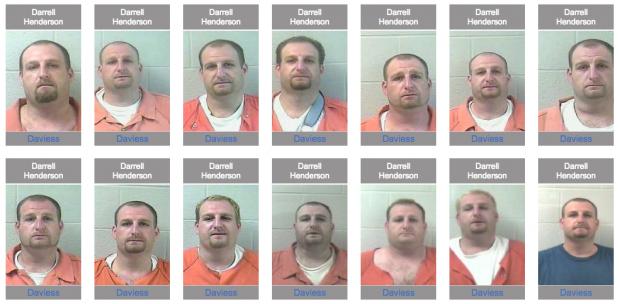 Kentucky.arrests.org/Screenshot/Darrell Henderson