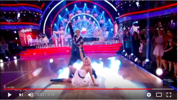 Dancing With The Stars (photo: You Tube Screen Shot)