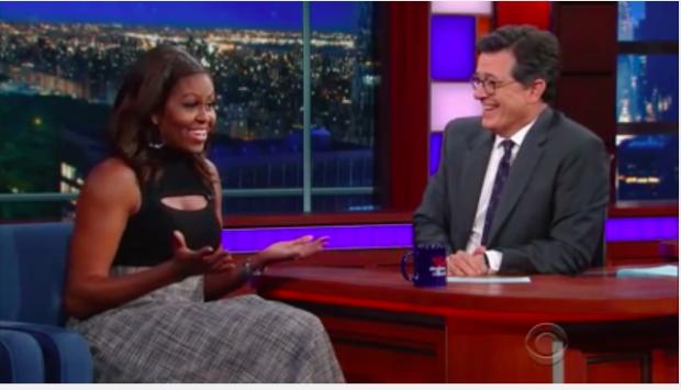 Michelle Obama (photo: YouTube Screen Shot)