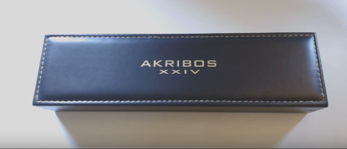 This Arkibos watch is 92 percent off (YouTube screenshot)