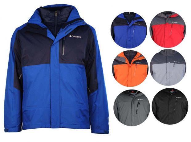 This Columbia jacket is available in 10 different colors (Photo via eBay)