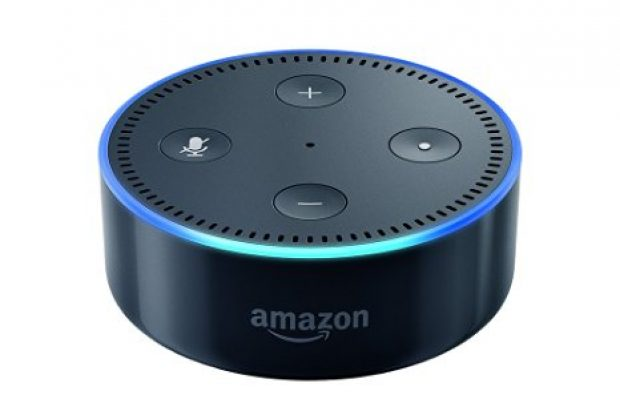 Normally $50, the 2nd Generation Echo Dot is 20 percent off today (Photo via Amazon)