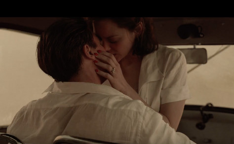 They have several steamy scenes together. (Photo credit: Screenshot/YouTube Paramount Pictures)