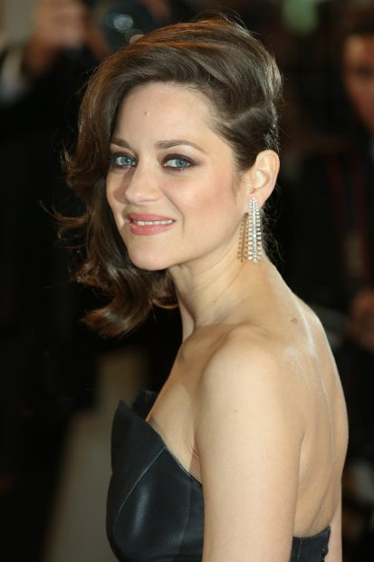 """Marion Cotillard is co-starring in """"Allied"""" with Brad. (Photo credit: Splash News)"""