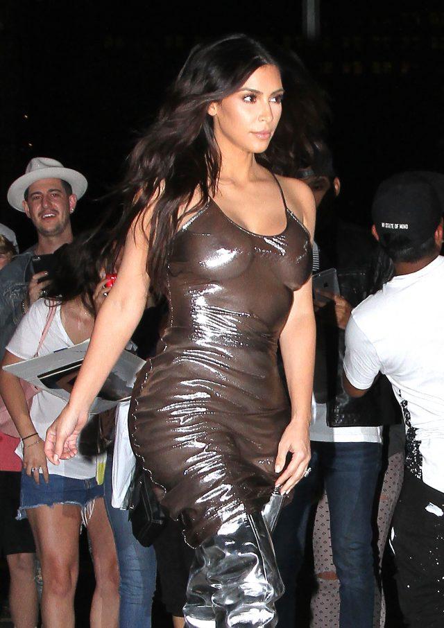 Kim Kardashian Sighting, NYC