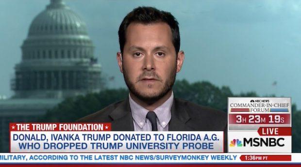 Screenshot, MSNBC.