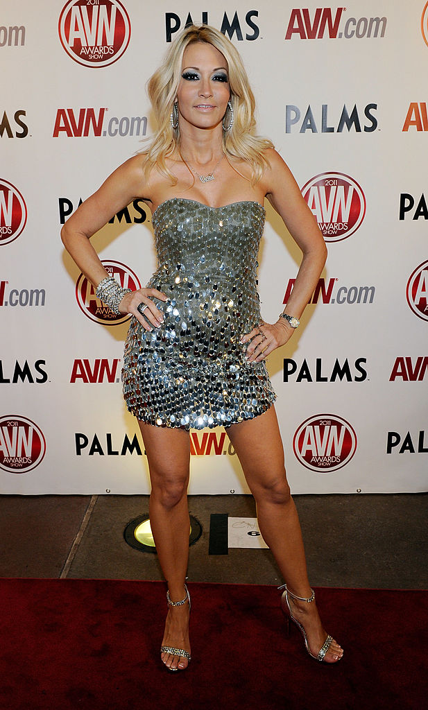 Adult film actress jessica drake arrives at the 28th annual Adult Video News Awards Show at the Palms Casino Resort in Las Vegas, Nevada. (Photo by Ethan Miller/Getty Images)
