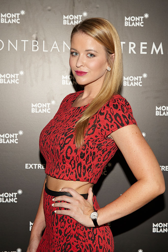 Kristen Ledlow attends the Montblanc celebration for the grand re-opening of the Atlanta Boutique in Atlanta, Georgia. (Photo by Craig Bromley/Getty Images for Montblanc)
