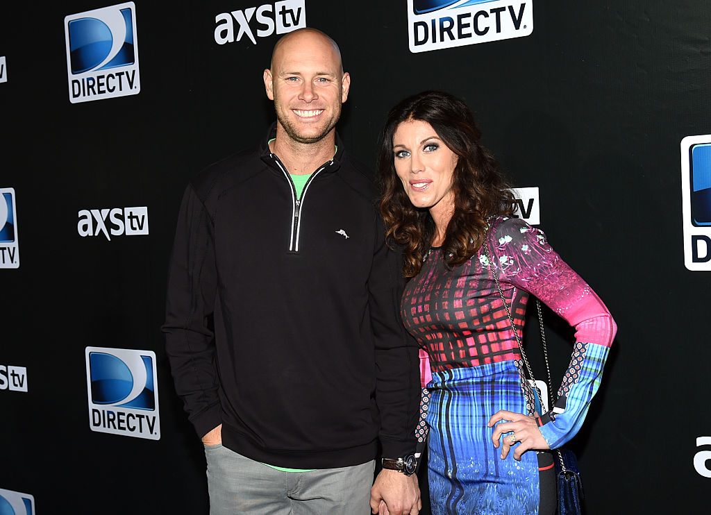 Brown and his ex-wife Molly (Photo credit: Getty Images)