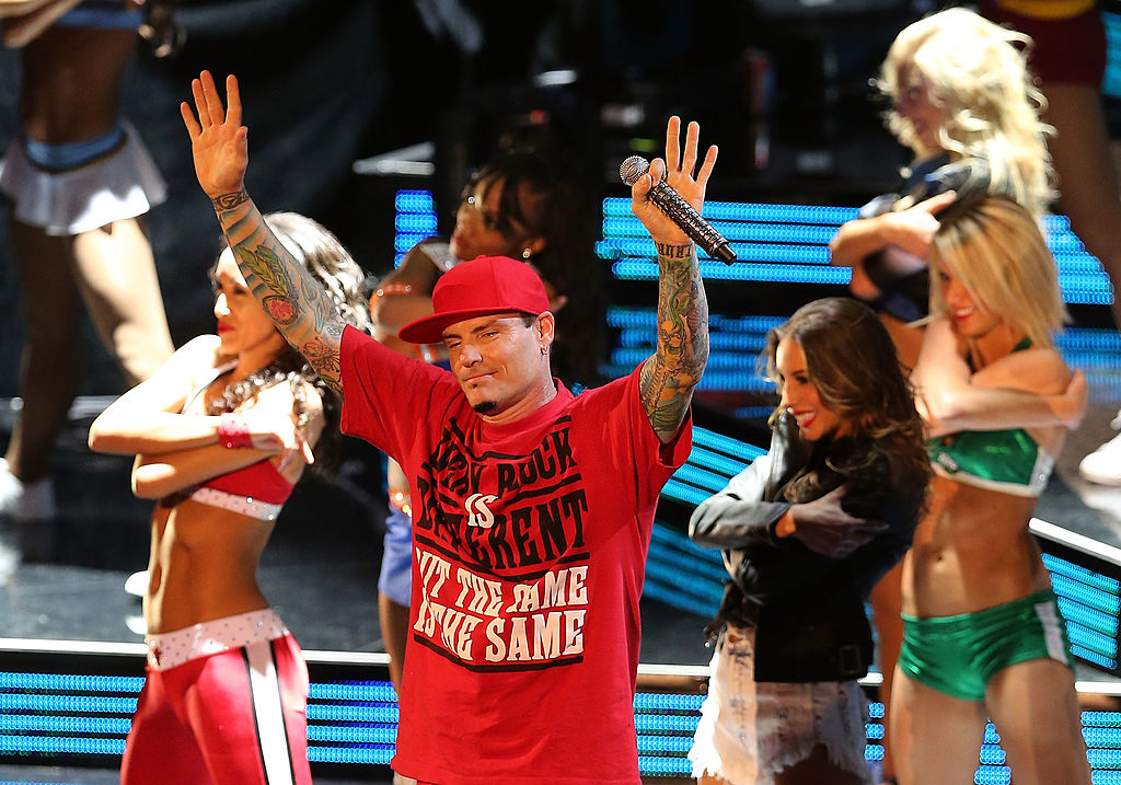 Vanilla Ice is standing strong. (Photo by Christian Petersen/Getty Images)