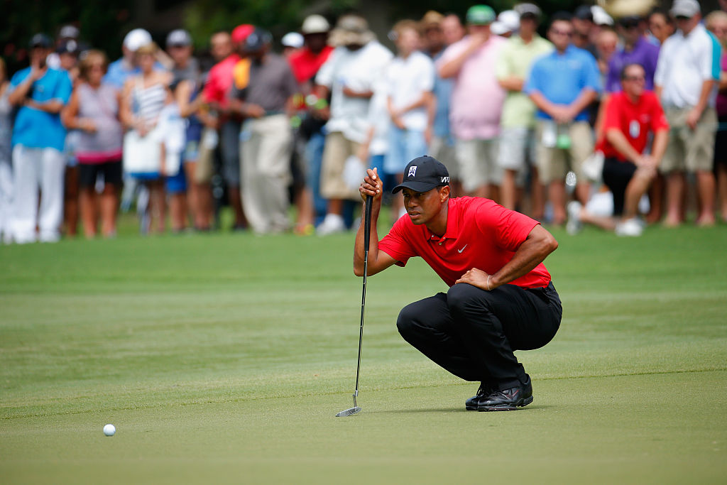 Tiger Woods has been on a break from competition since August of 2015. (Photo by Kevin C. Cox/Getty Images)