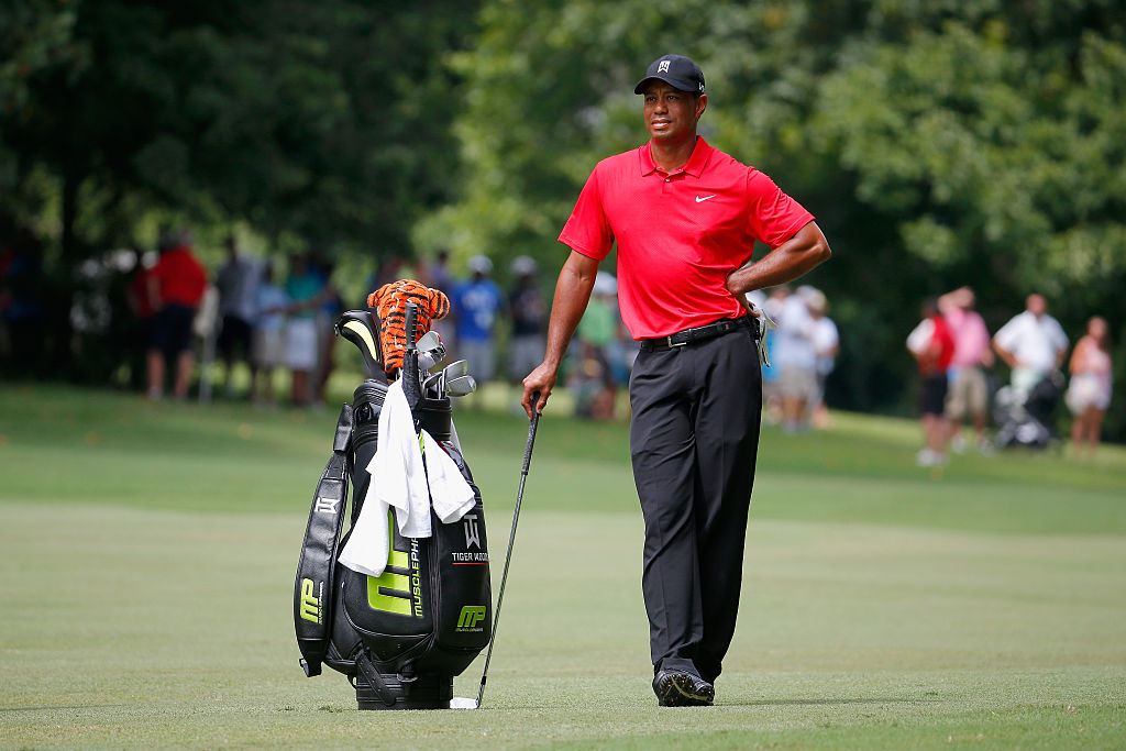 Tiger last competed in the Wyndham Championship at Sedgefield Country Club on August 23, 2015 in Greensboro, North Carolina. (Photo by Kevin C. Cox/Getty Images)