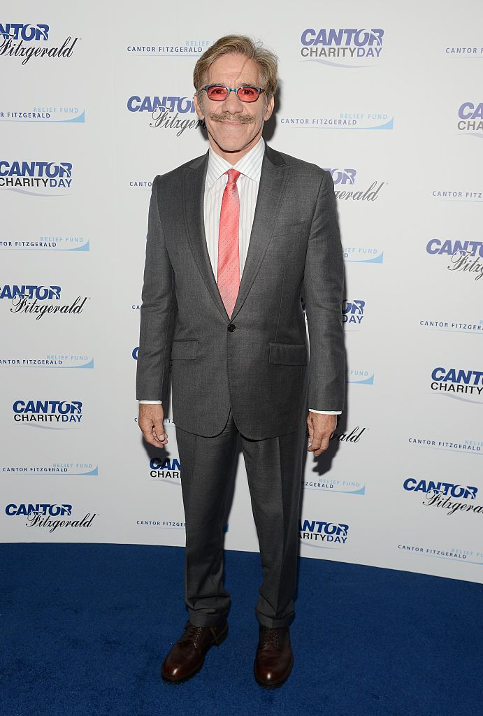 Geraldo Rivera on the 'blue' carpet (Getty Images)