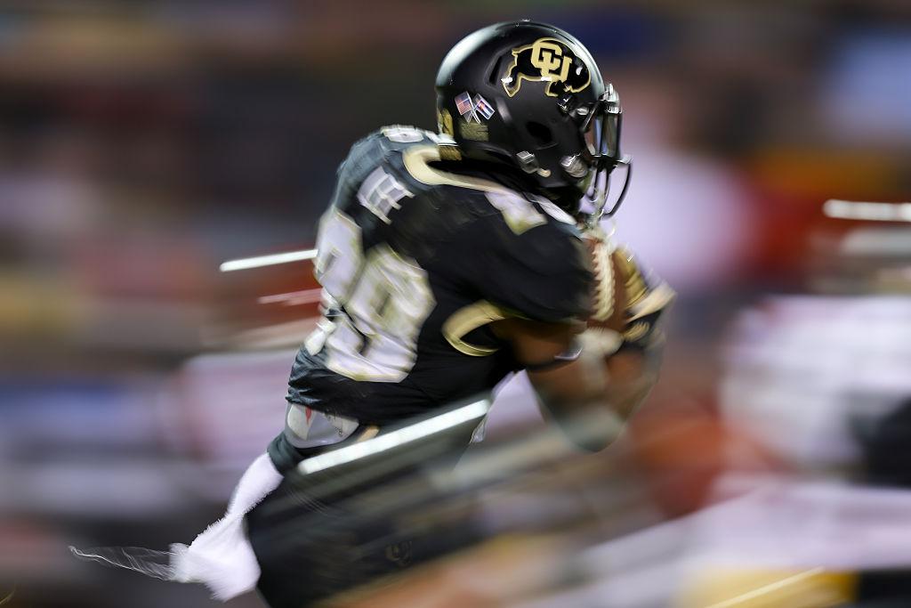 University of Colorado Buffalo football. (Photo by Justin Edmonds/Getty Images)