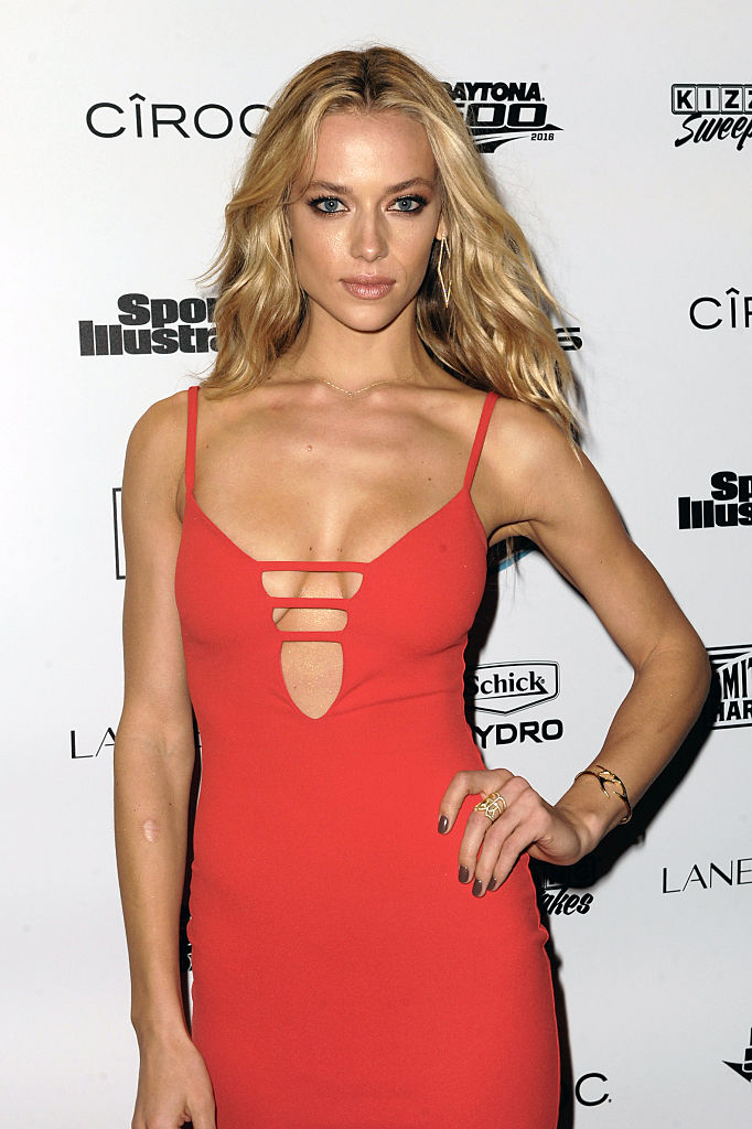 Hannah Ferguson attends A Night at Sea VIP Boat Cruise sponsored by Sports Illustrated Swimsuit 2016 in Miami. (Photo by Sergi Alexander/Getty Images for Sports Illustrated)