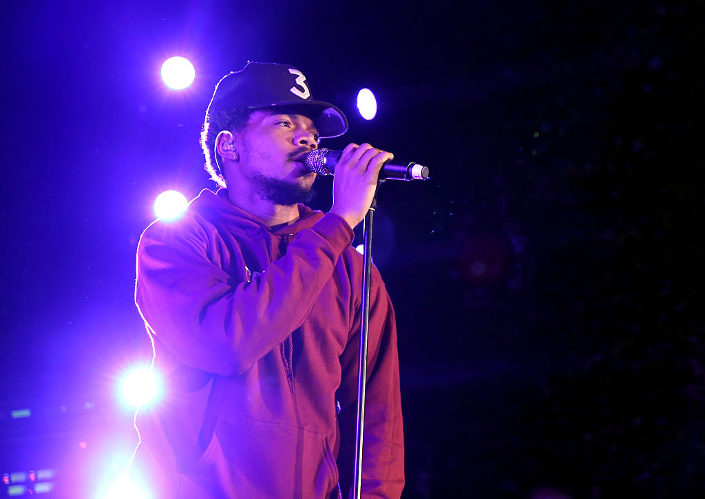 Chance The Rapper is with Hillary (Photo credit: Getty Images)