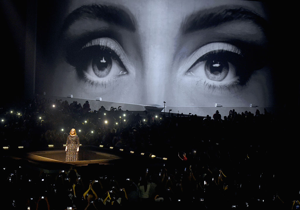 The British singer has voiced her support for Clinton before. (Photo by Kevin Winter/Getty Images for BT PR)