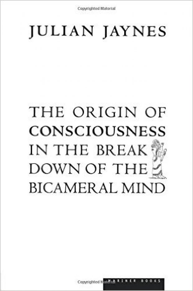 Julian Jaynes proposed bicameral mind theory in 1976 (Photo via Amazon)
