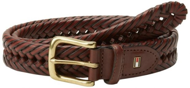 Normally $50, this braided belt can be had for only $18 today (Photo via Amazon)