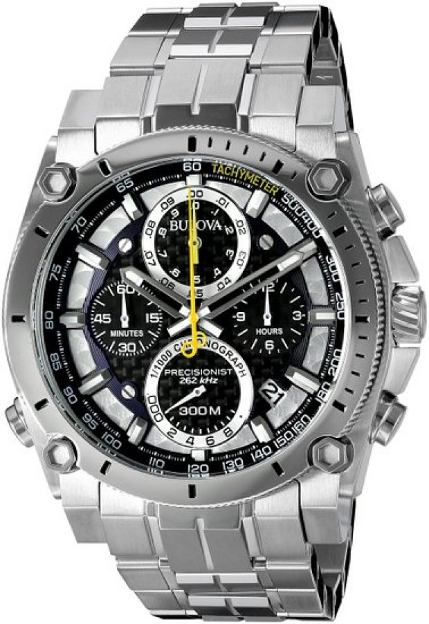This Bulova Precisionist is currently over 50 percent off (Photo via Amazon)