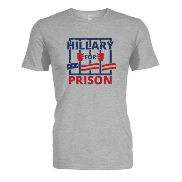 There has never been a better time to get 'Hillary for Prison' gear