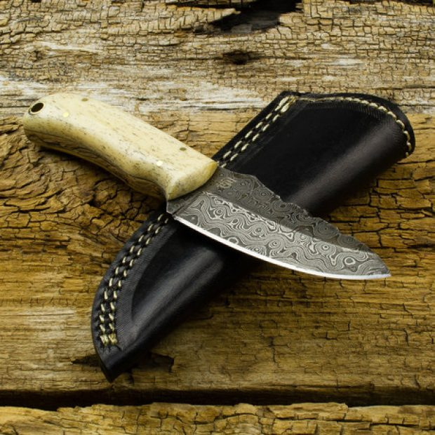 Normally $94, the Laplander Damascus knife is on sale for $72 (Photo via Touch of Modern)