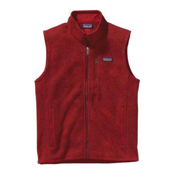 Normally $99, this fleece vest is on sale for $49. It comes in five solid patterns (Photo via Patagonia)