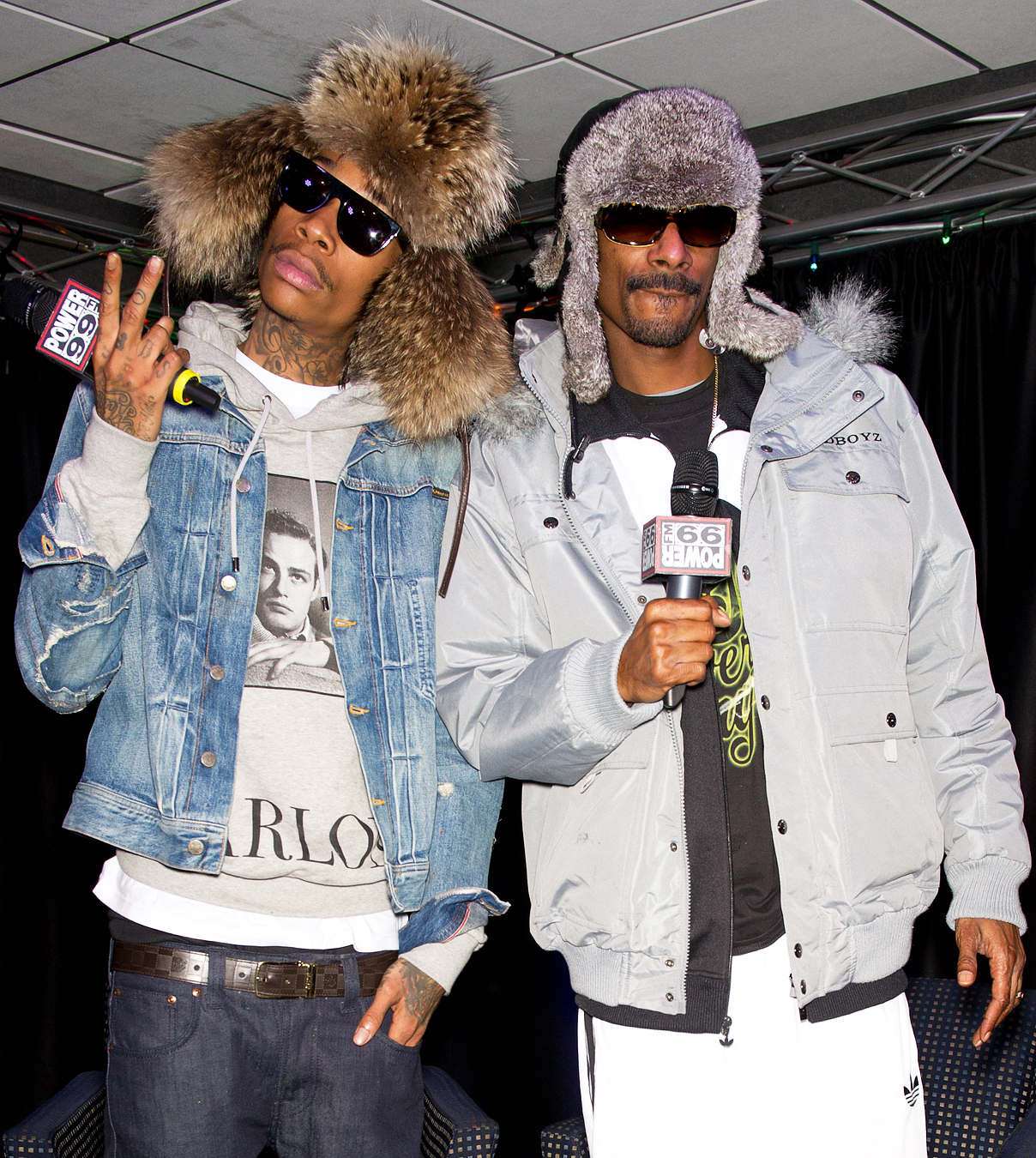 Snoop Dogg and Wiz Khalifa have been on tour together (Photo credit: Splash News)