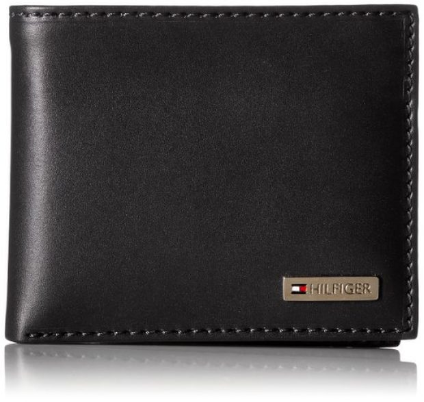 Normally $40, this Tommy Hilfiger wallet is available today for $17 (Photo via Amazon)