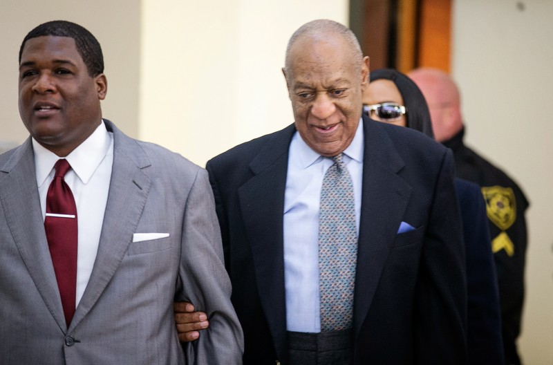 Bill Cosby arrives in court (Photo credit: REUTERS/Ed Hille/Pool)