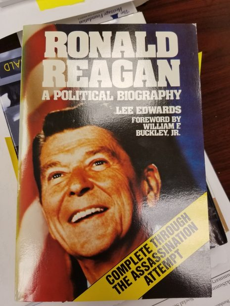 Ronald Reagan: A Political Biography, by Lee Edwards. Christopher Bedford.
