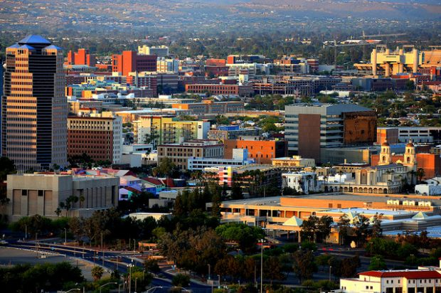 Tucson (Credit; Bill Morrow/Flickr, no changes made) https://flic.kr/p/bUCQ8S