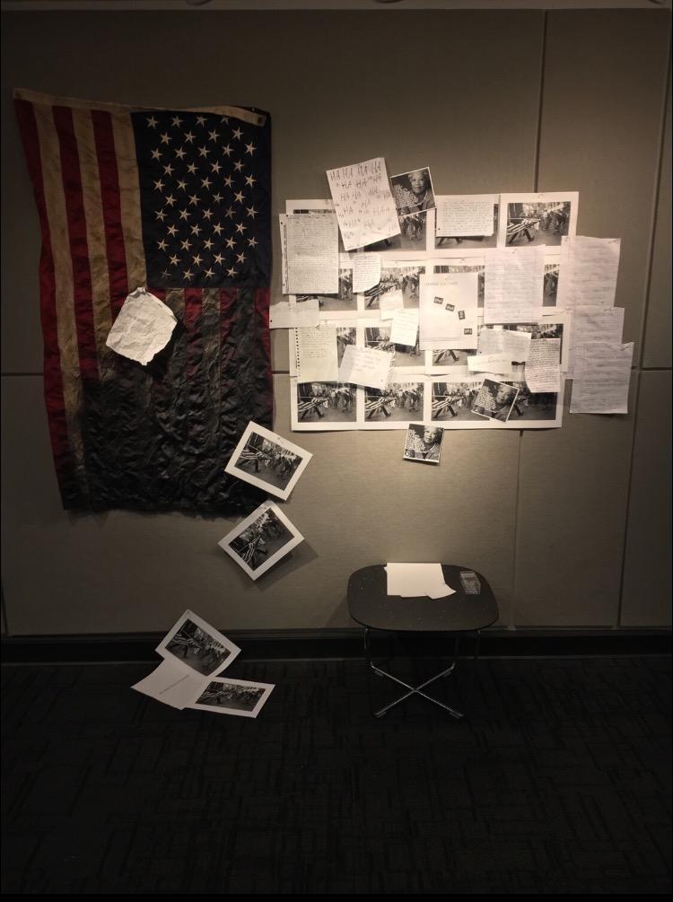 "Defiled American flag passes as ""art"" at Dayton University"