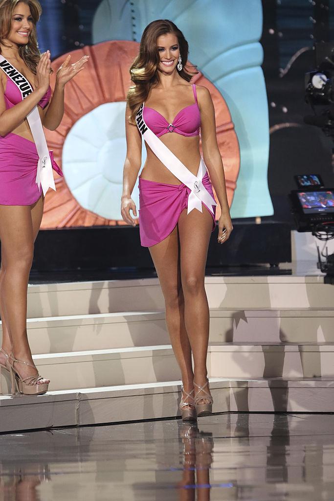 Miss Spain Desire Cordero (Photo credit: Splash News)