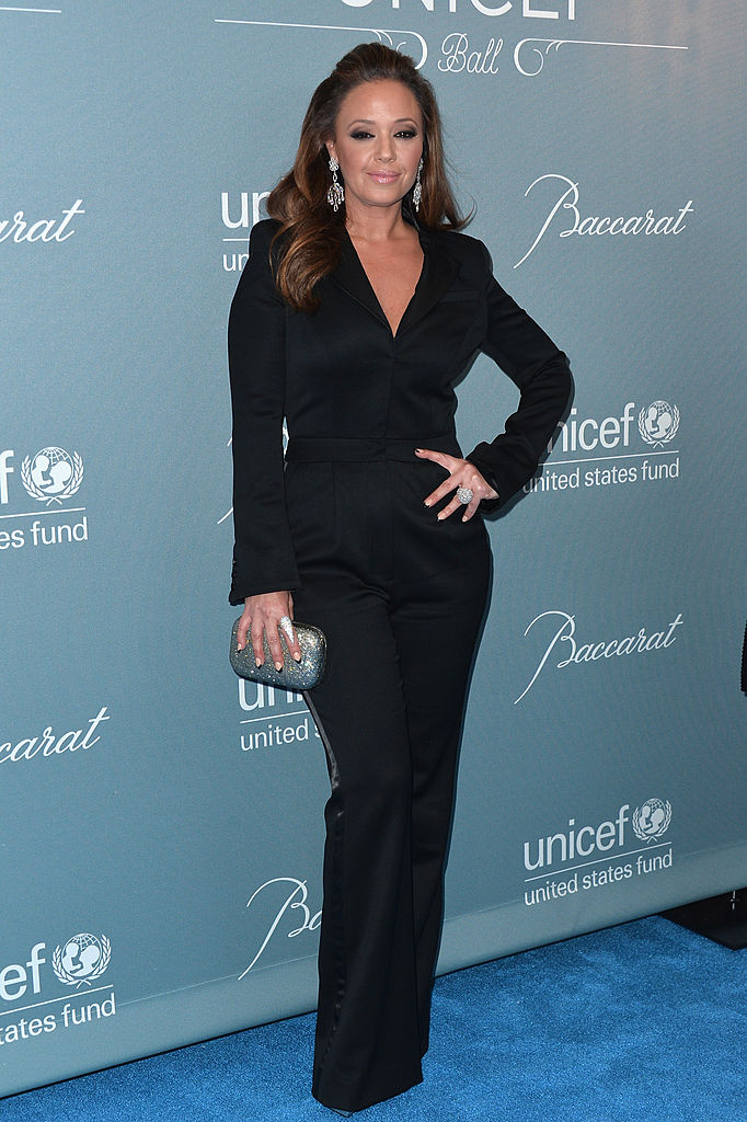 Actress Leah Remini arrives to the 2014 UNICEF Ball Presented by Baccarat at the Regent Beverly Wilshire Hotel in Beverly Hills, California. (Photo by Alberto E. Rodriguez/Getty Images)