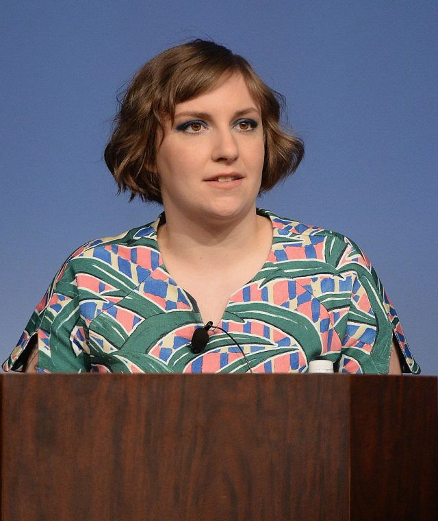 Filmmaker Lena Dunham speaks during the SXSW 2014 Film Keynote during the 2014 SXSW Music, Film + Interactive Festival at the Austin Convention Center on March 10, 2014 in Austin, Texas. (Photo by Michael Buckner/Getty Images for SXSW)