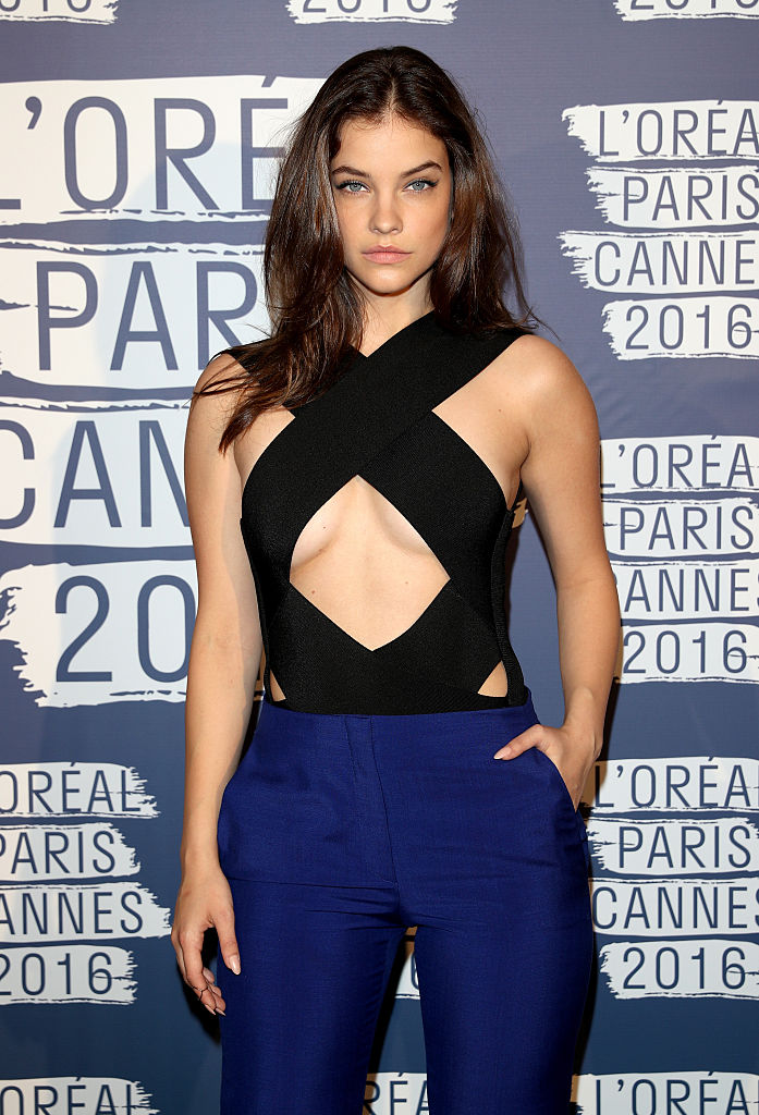Barbara Palvin at the L'Oreal Paris Blue Obsession Party at the annual 69th Cannes Film Festival. (Photo credit: Getty Images)