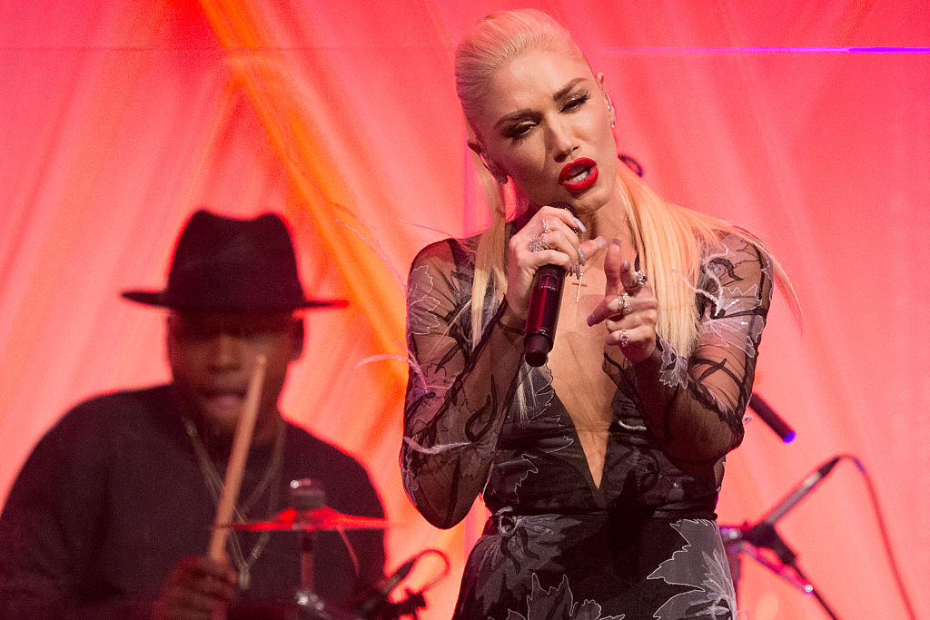 Gwen Stefani performs at a State dinner at the White House. (Photo credit: Getty Images)
